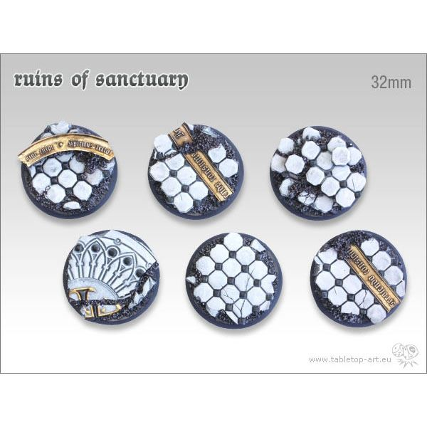 Ruins of Sanctuary - 32mm Round Bases