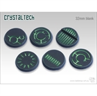Crystal Tech (Blank) - 32mm Round Bases