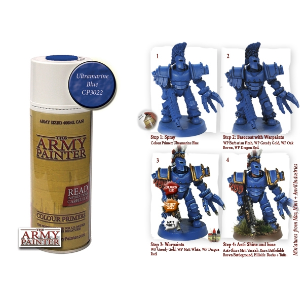 The Army Painter: Ultramarine Blue