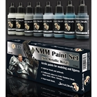 Scale 75 - NMM Steel & Silver Paint Set